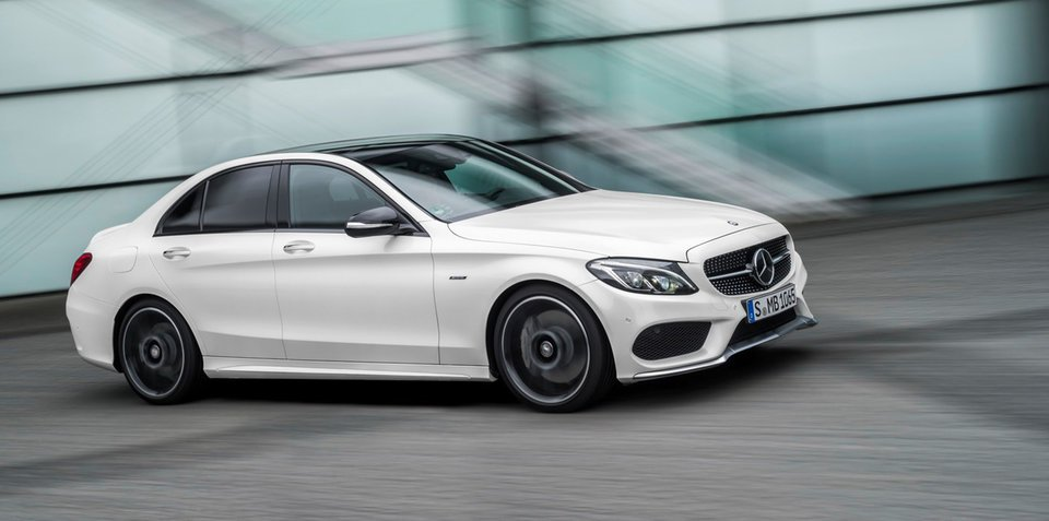 2016 Mercedes-AMG C43:: Australian pricing revealed for new entry-level performer