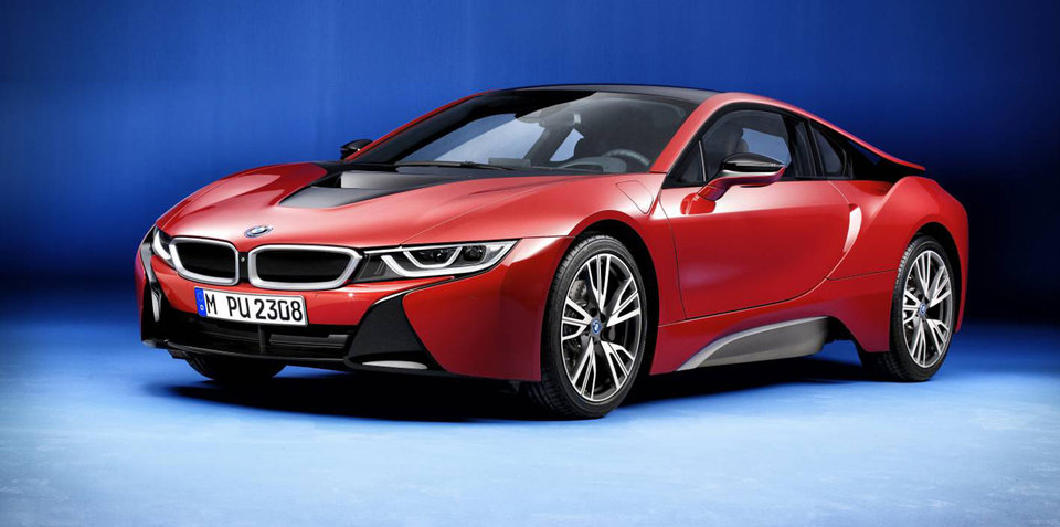 BMW i8 Protonic Red Edition revealed, five confirmed for Australia