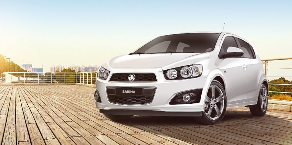 2016 Holden Barina R:: sporty RS-inspired edition launched