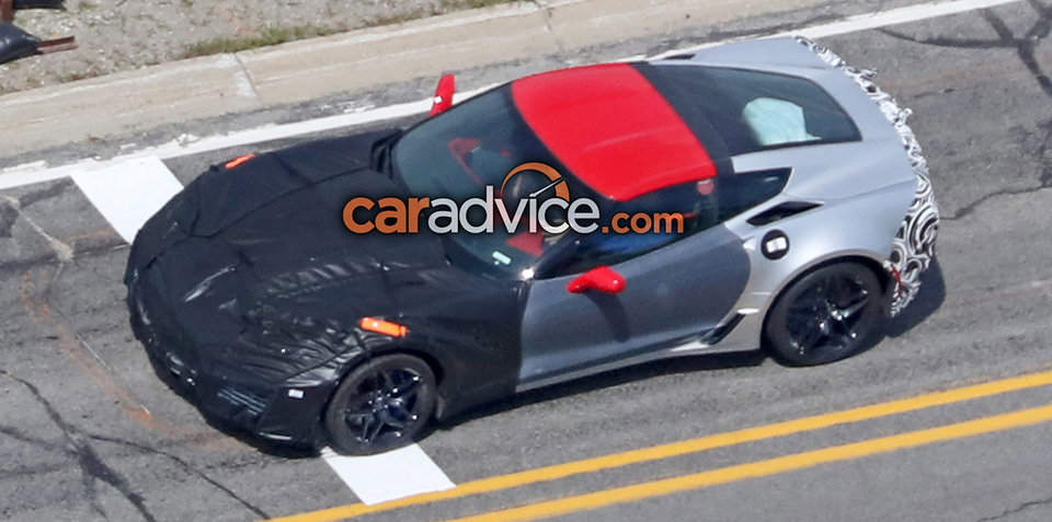 2017 chevrolet corvette zr1 spied. Black Bedroom Furniture Sets. Home Design Ideas