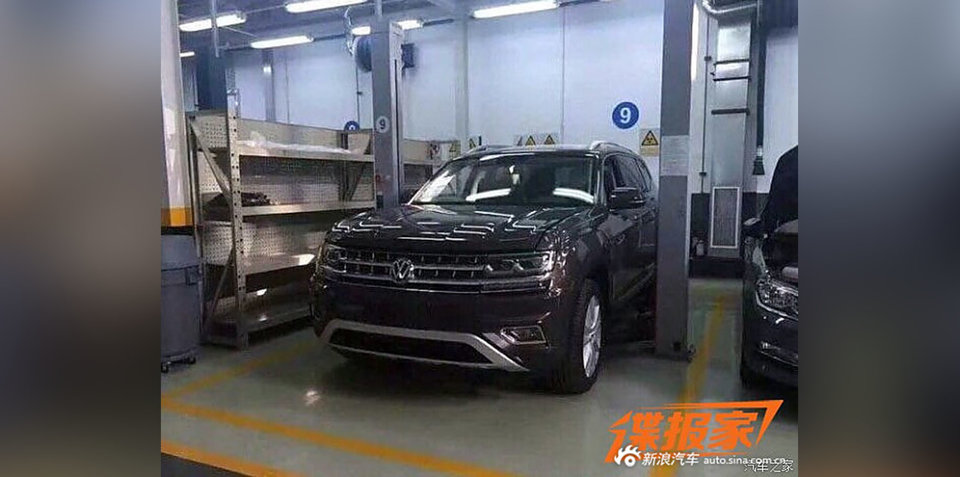2017 Volkswagen 'Teramont' spied undisguised, revealed in leaked images