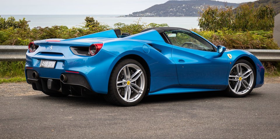 2016 Ferrari 488 Spider Review Caradvice