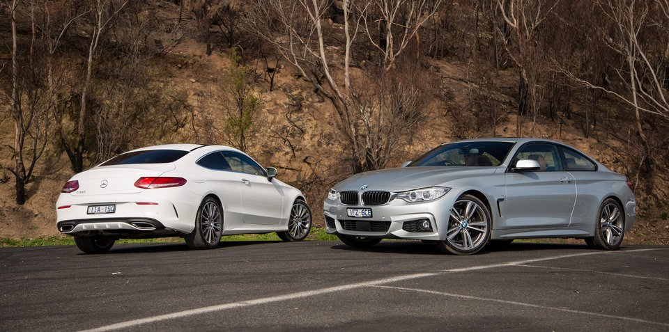 Mercedes-Benz C300 Coupe v BMW 430i Comparison