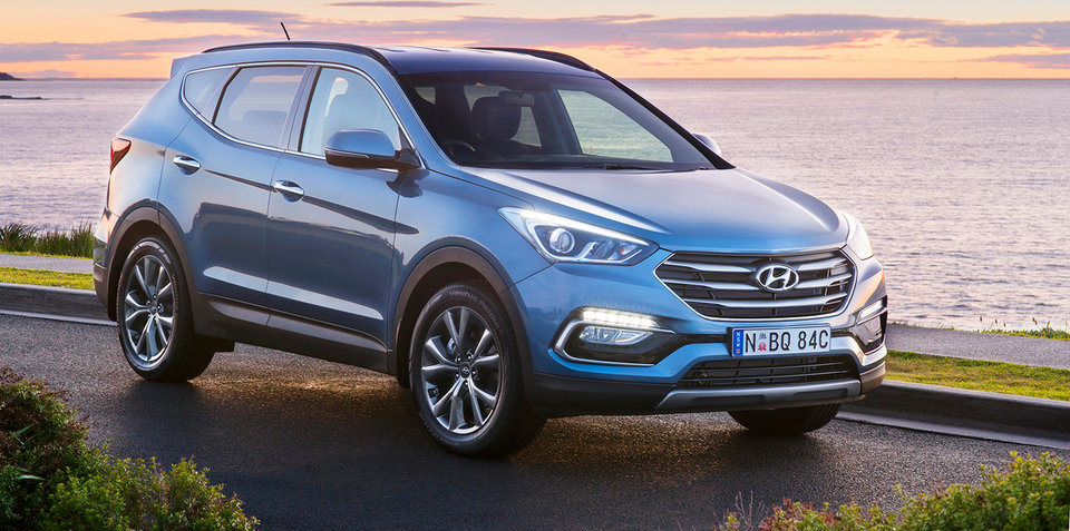 Hyundai Australia celebrates 30 years with Santa Fe, Tucson: V6 returns to Santa Fe for new special