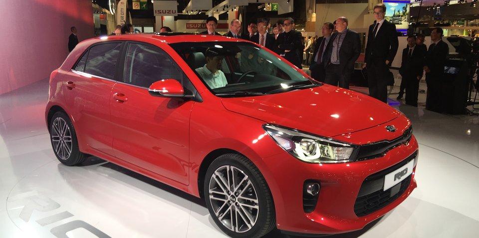 2017 Kia Rio gets Australian suspension upgrade