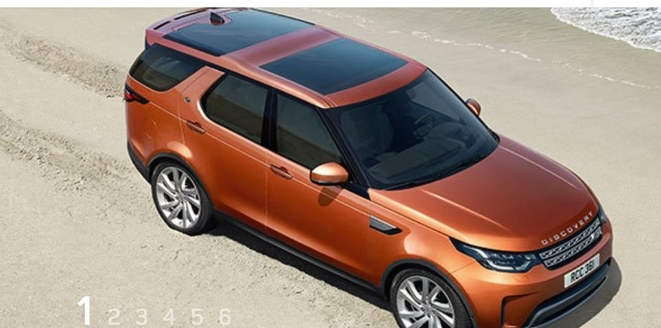 2017 land rover discovery leaked. Black Bedroom Furniture Sets. Home Design Ideas