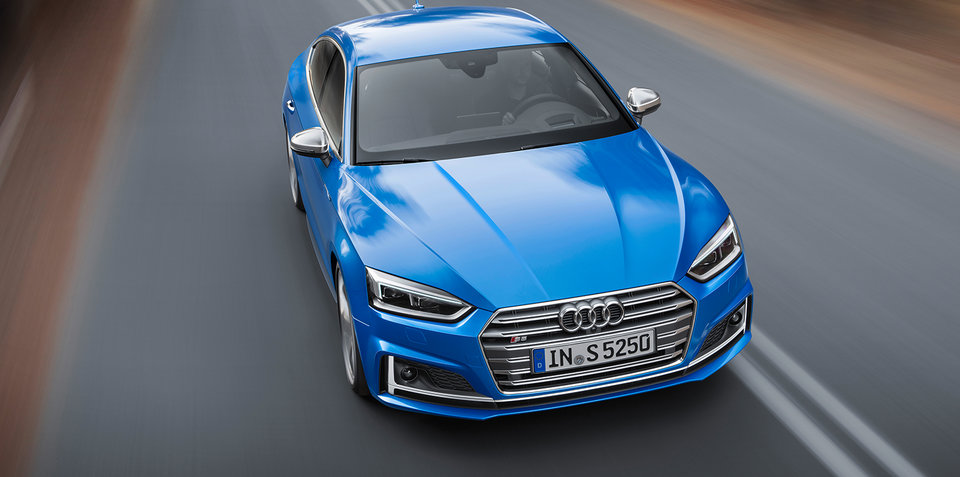 2017 Audi A5 Sportback, S5 Sportback revealed for Paris motor show