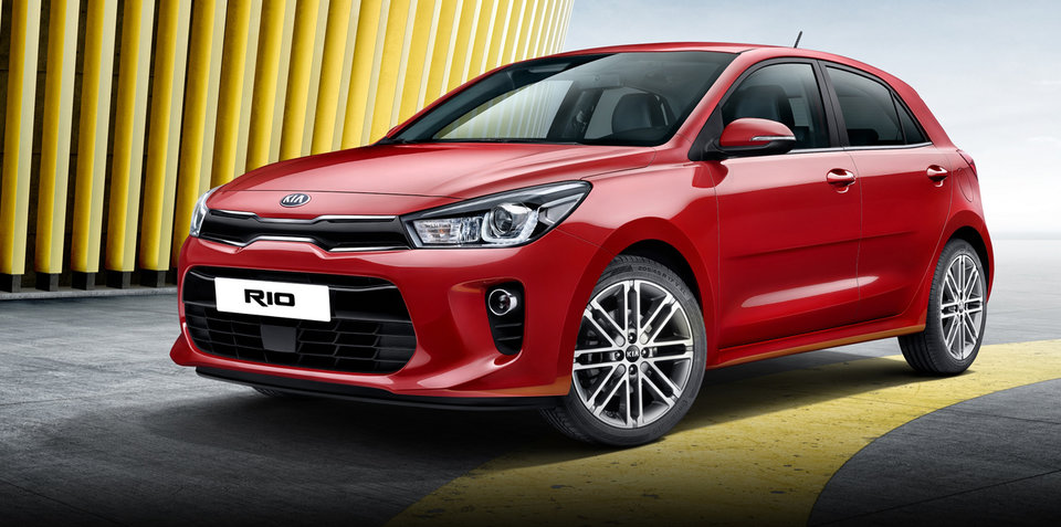 2017 Kia Rio revealed, Australian debut due first-quarter next year
