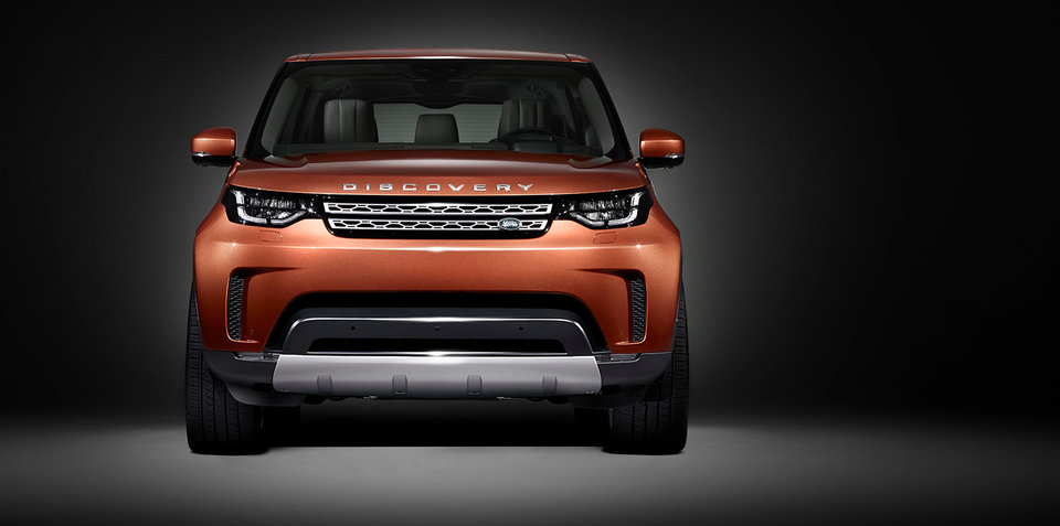 2017 Land Rover Discovery shows its face ahead of Paris debut