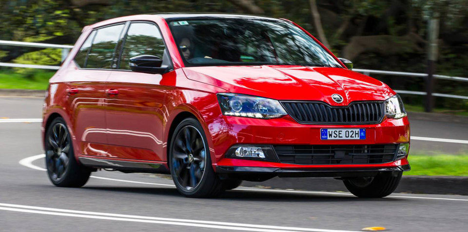 2017 Skoda Fabia Monte Carlo hits Australia, rear-view camera now standard across full range