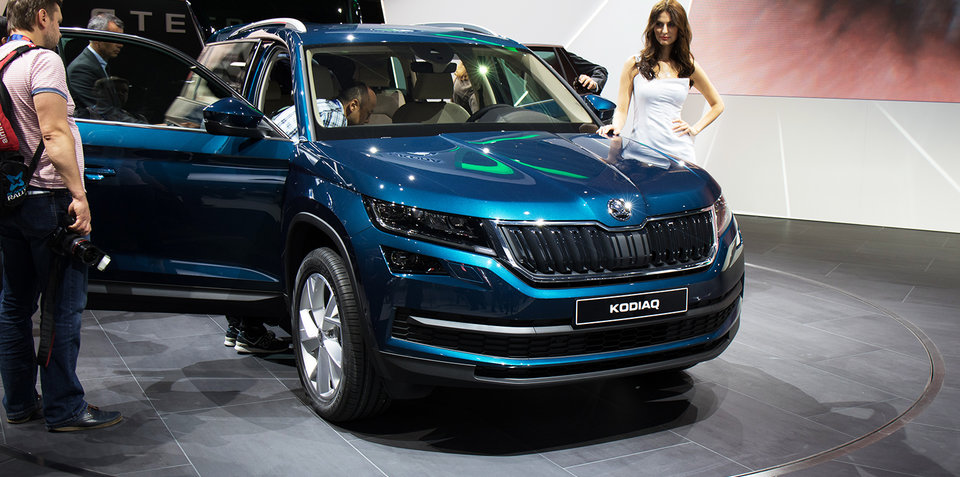 2017 Skoda Kodiaq seven-seat SUV revealed, Australian launch due next year
