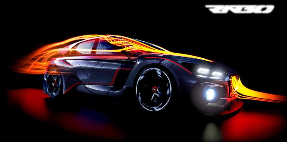 Hyundai N Concept RN30:: motorsport flavoured car teased ahead of Paris debut