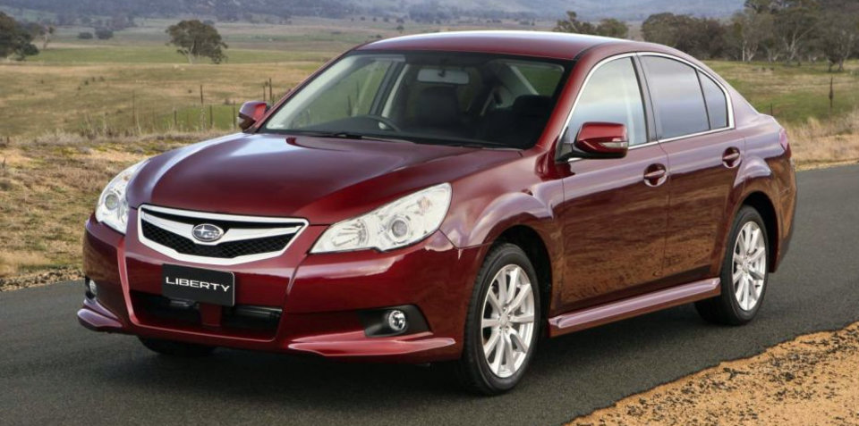 2010 14 subaru liberty outback recalled for windscreen. Black Bedroom Furniture Sets. Home Design Ideas