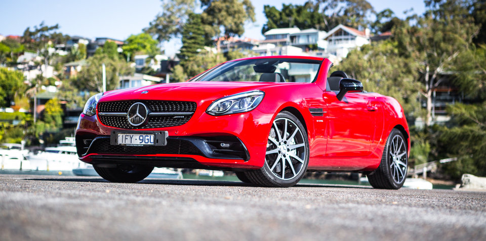 2017 Mercedes-AMG SLC43 review