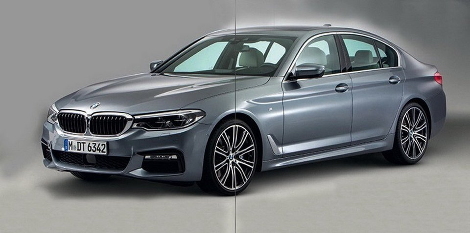 2017 BMW 5 Series surfaces online in leaked images