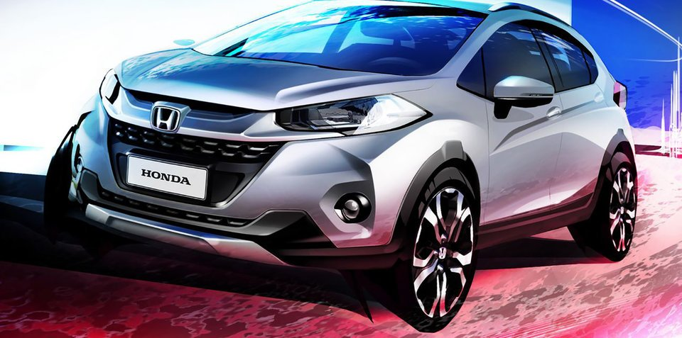 Brazil's new Honda WR-V previewed in jazzy sketch