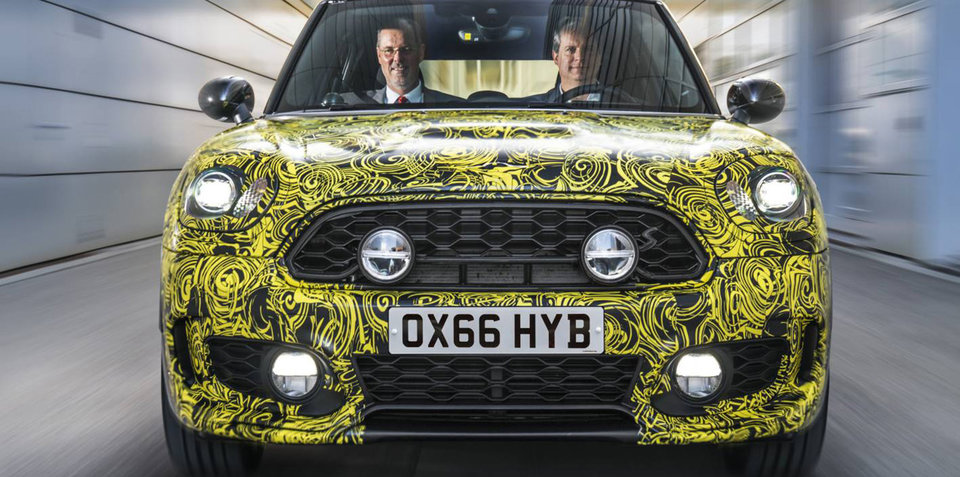 2017 Mini Countryman E previewed with brand-first PHEV tech