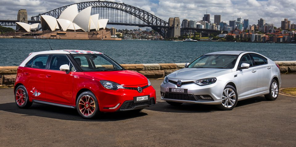 MG opens three new dealers in NSW and QLD