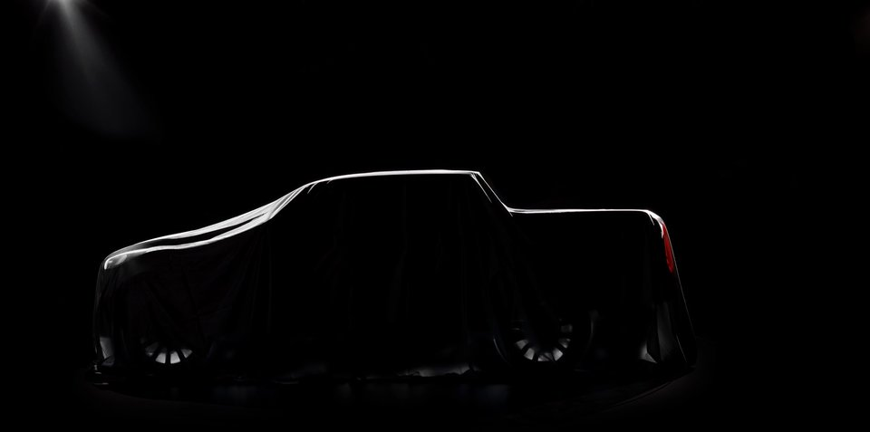 """Mercedes-Benz Pickup """"The Concept"""" teased again ahead of global debut"""