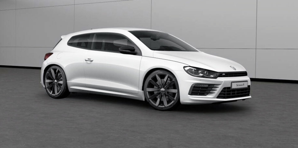 Volkswagen Scirocco R Wolfsburg in Australia from November 14: Farewell range limited to 150 cars