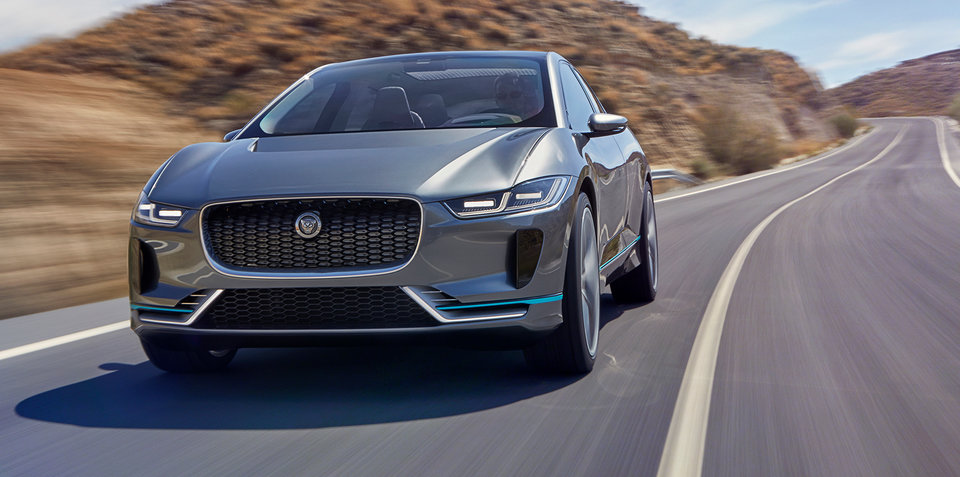 Jaguar I-Pace 'concept' revealed: British luxury brand readies move into EV arena