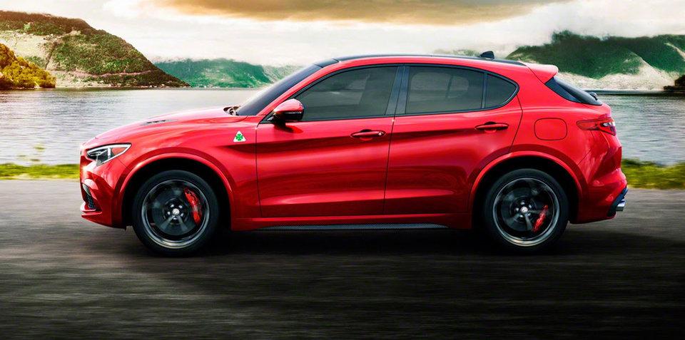 2018 Alfa Romeo Stelvio revealed: Leaked images and details