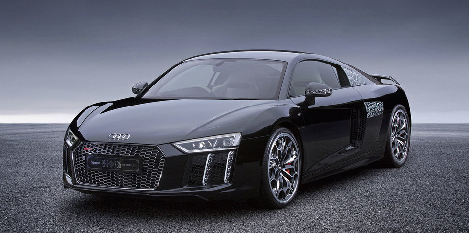 Audi R8 Star of Lucis:: One-off Final Fantasy XV special built for Japan