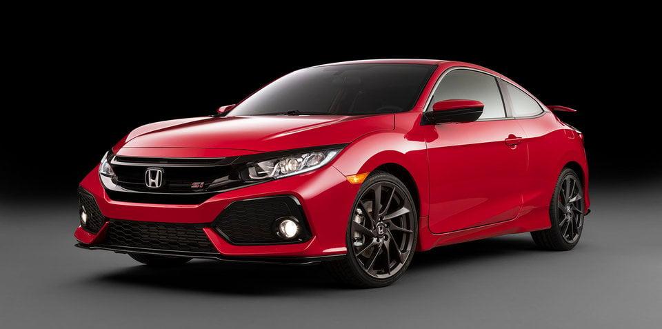 Honda Civic Si Prototype previews sub-Type R coupe and sedan