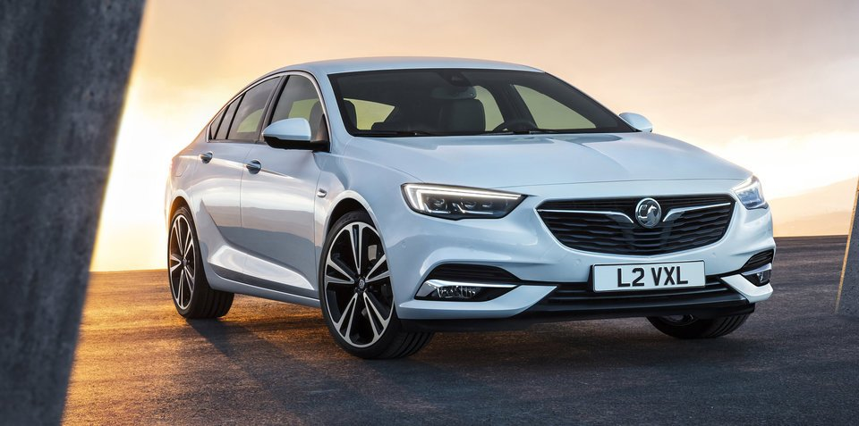 Opel Insignia Grand Sport revealed for Europe: Holden Commodore twin unveiled