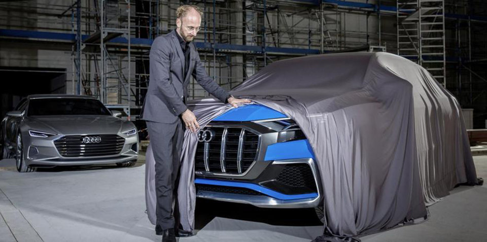 Audi Q8 Concept's nose teased in German magazine