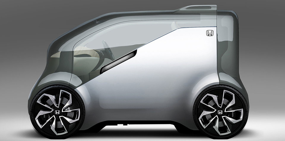 Honda NeuV concept previewed ahead of CES 2017 debut