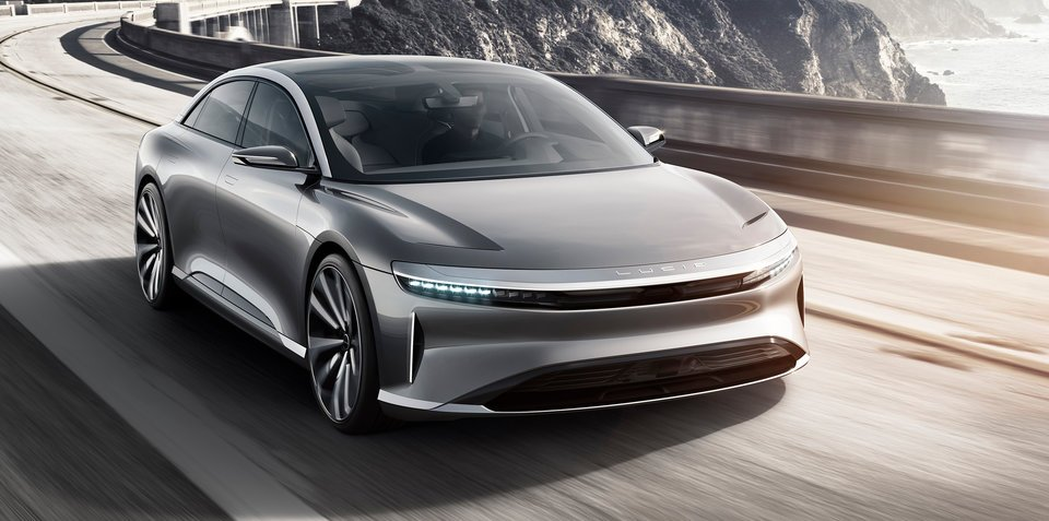 Lucid Air revealed ahead of 2018 debut: New all-electric Tesla rival unveiled