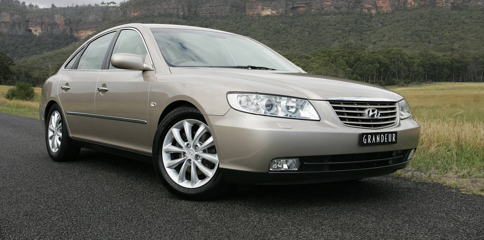 2007 Hyundai Grandeur recalled for seat fix: 50 vehicles affected