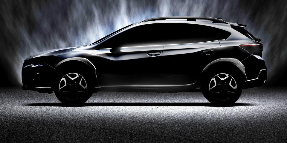 2017 Subaru XV teased ahead of Geneva unveiling - UPDATE
