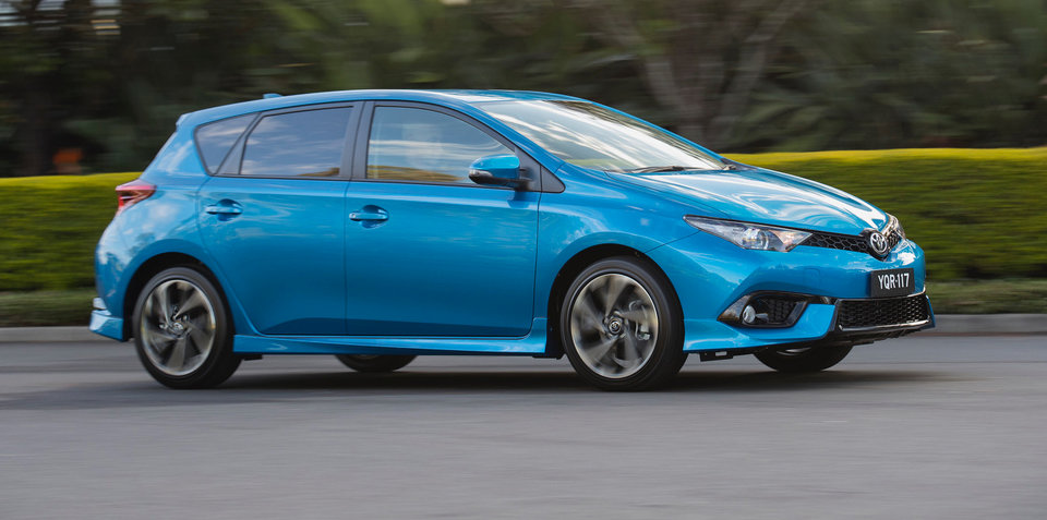2017 Toyota Corolla hatch pricing and specs: Safety upgraded, SX manual dropped - UPDATE