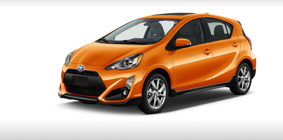2018 Toyota Prius C confirmed for Australia
