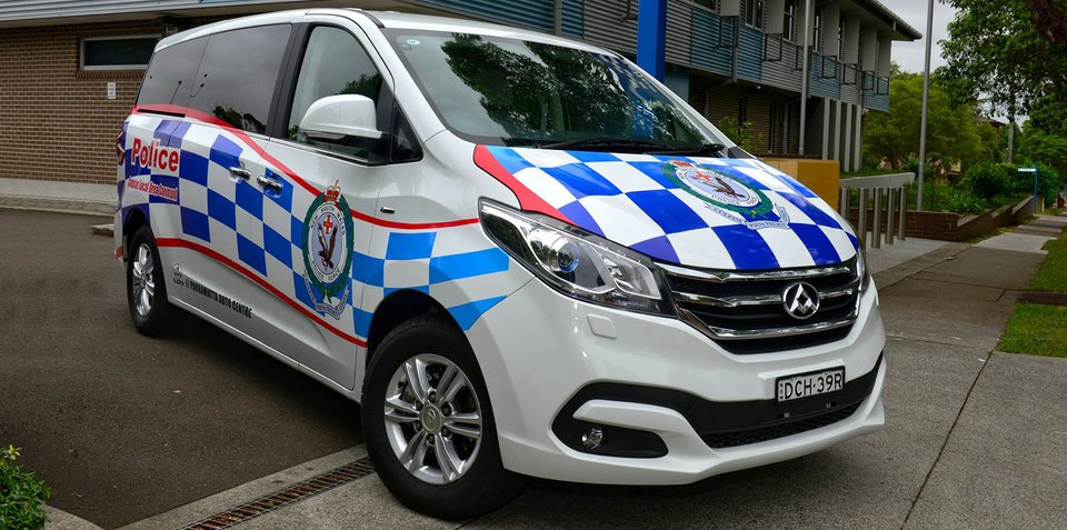 LDV G10 recruited by Campsie police