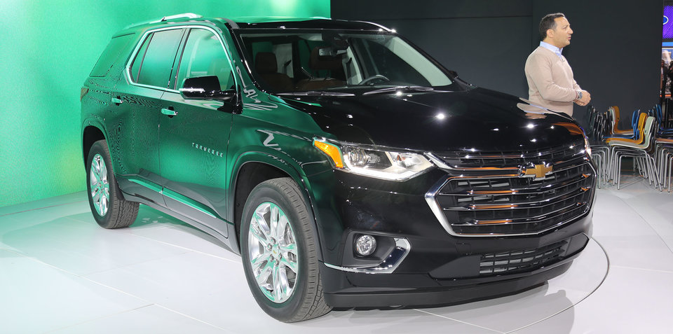 2017 Chevrolet Traverse: Longer, wider, taller version of Holden Acadia unveiled