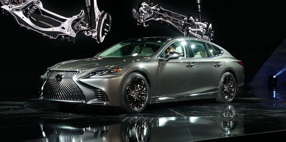 2018 lexus wagon. Unique Lexus 2018 Lexus LS500 Revealed In Detroit With Powerful New Twinturbo V6 Inside Lexus Wagon