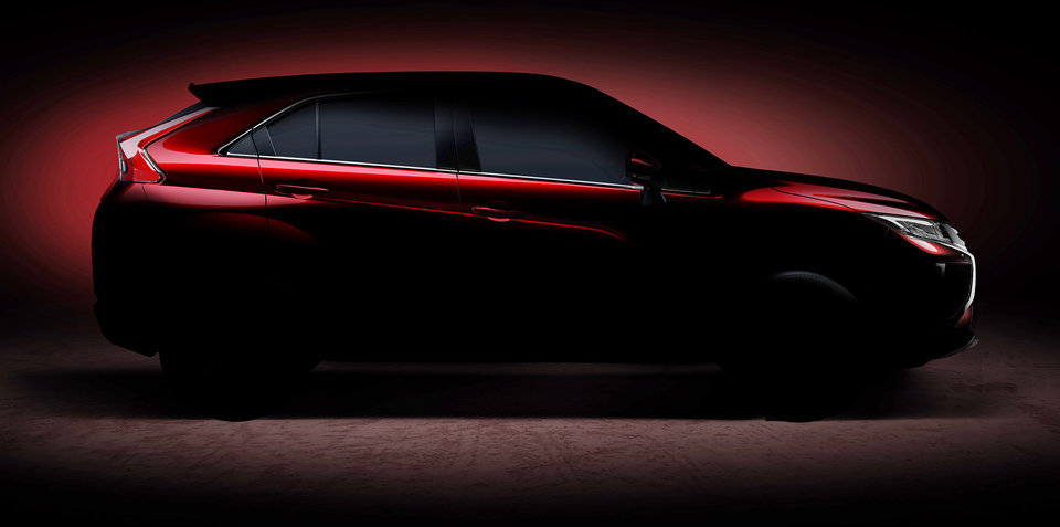 Mitsubishi previews new compact SUV for Geneva motor show