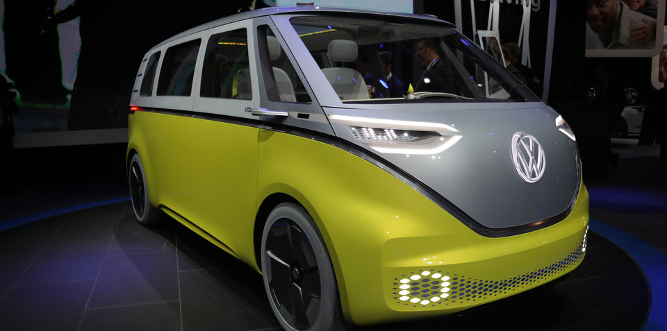 Volkswagen I.D. Buzz concept revealed