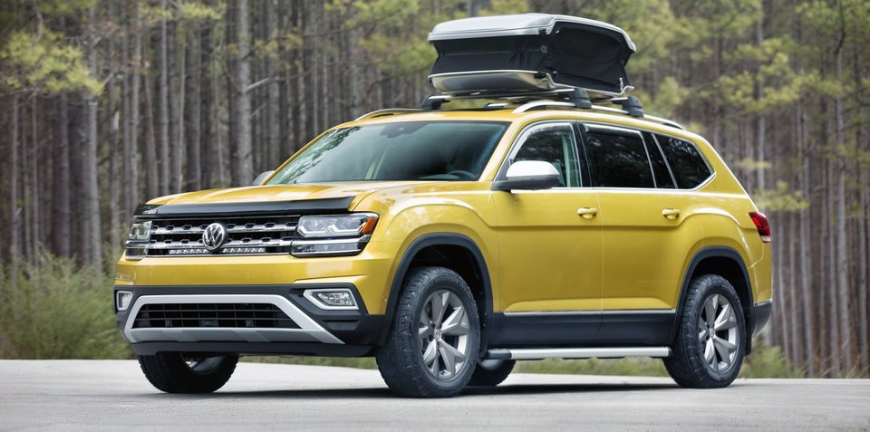"Volkswagen Atlas accessorises, Australian launch ""increasingly unlikely"""