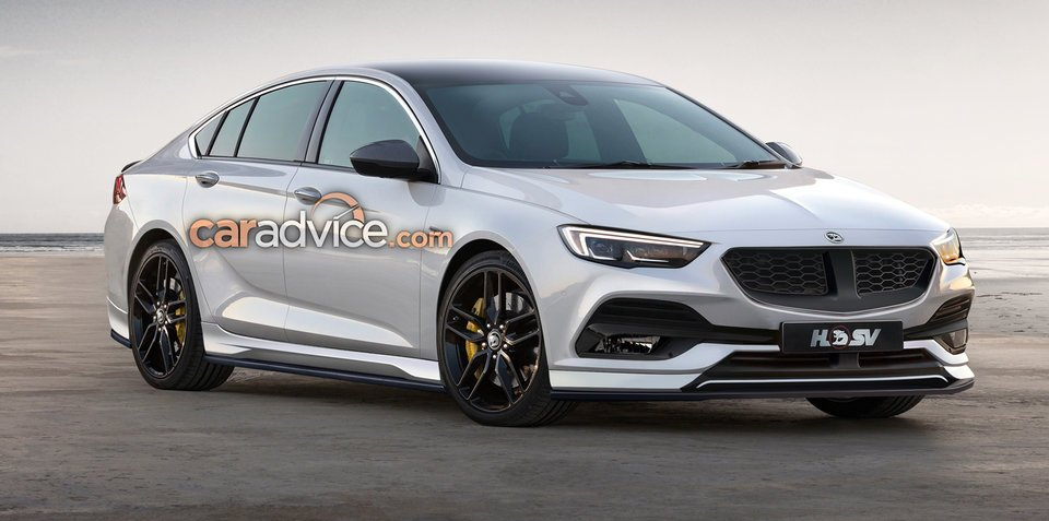 2018 HSV Clubsport and Tourer rendered