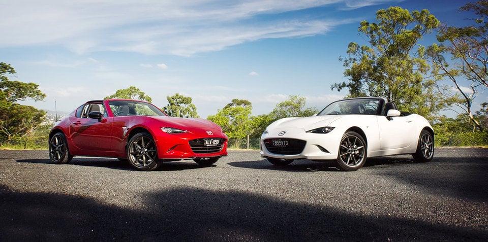 Mazda Mx 5 Rf Vs Mazda Mx 5 Comparison Caradvice Autos Post