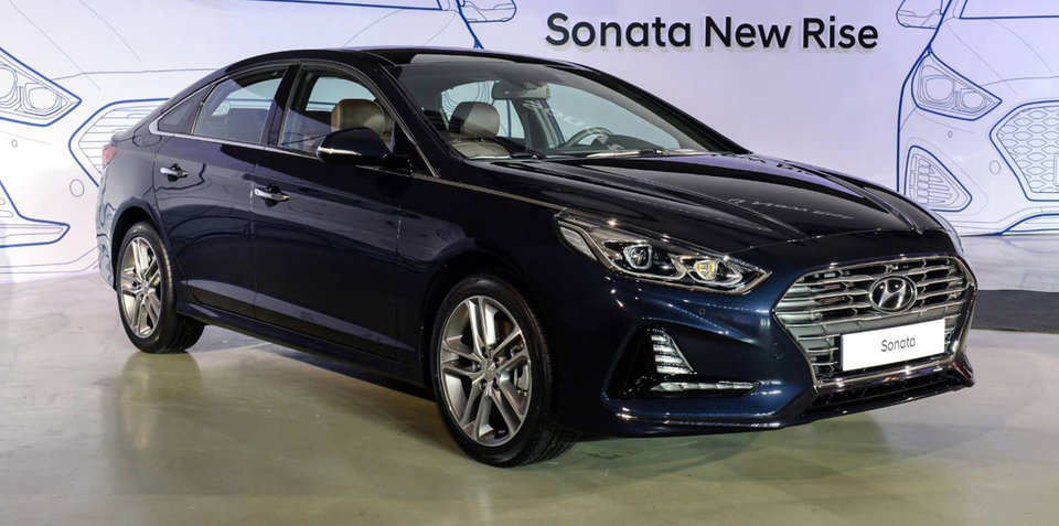 2017 hyundai sonata facelift revealed in korea. Black Bedroom Furniture Sets. Home Design Ideas