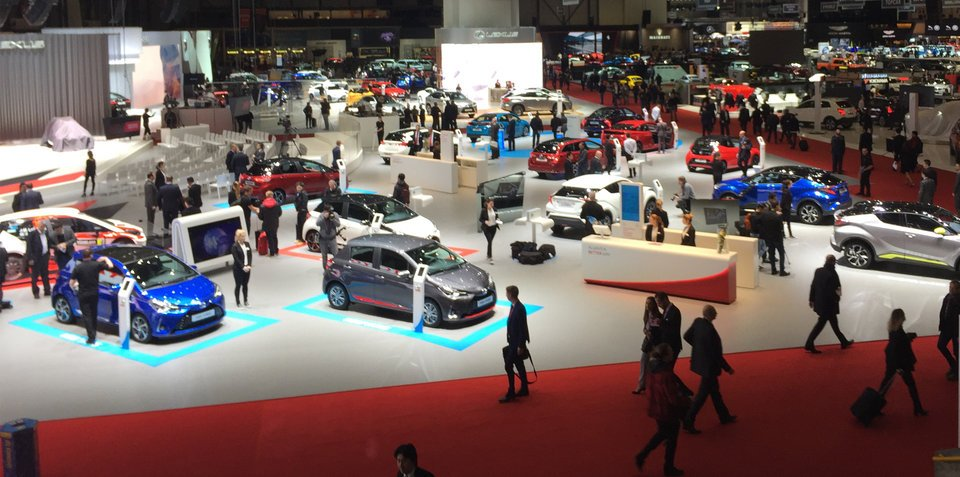 2017 Geneva motor show: Epic from-the-show-floor experience