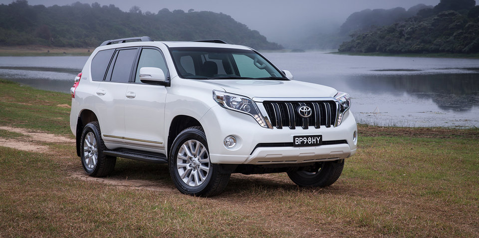 Toyota Prado Altitude returns for 2017