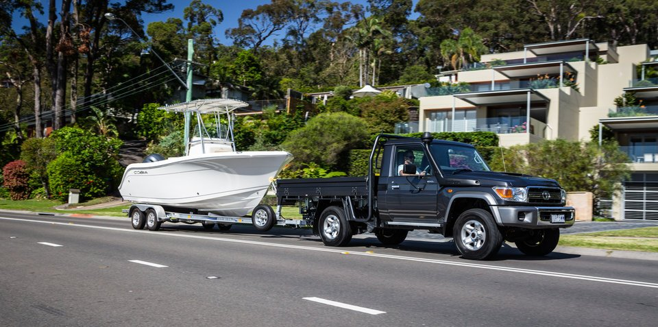 2017 Toyota LandCruiser 70 Series ute review: Long-term report four – towing
