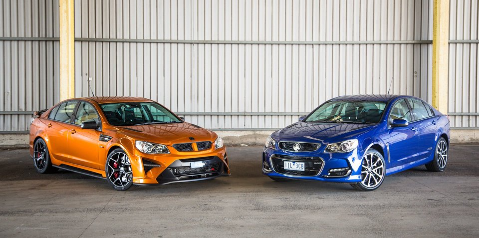 HSV GTSR W1 vs Holden Commodore SS