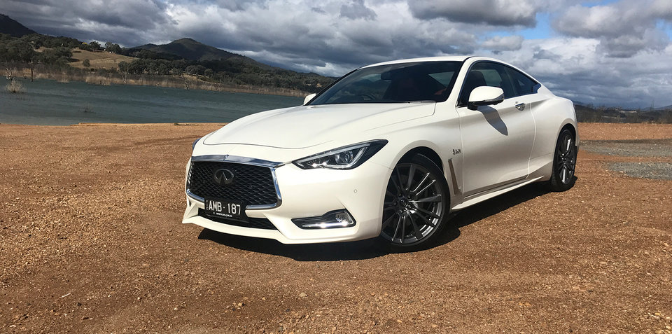 2017 Infiniti Q60 3.0t Red Sport review